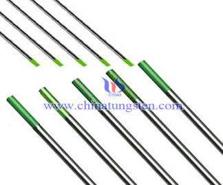Pure Tungsten Electrode Products Picture